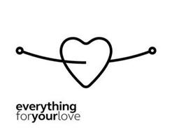 EVERYTHING FORYOUR LOVE