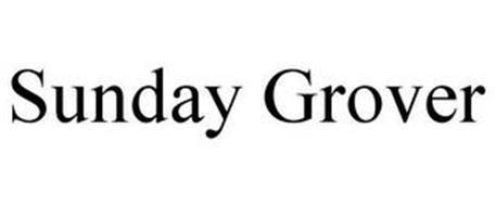 SUNDAY GROVER