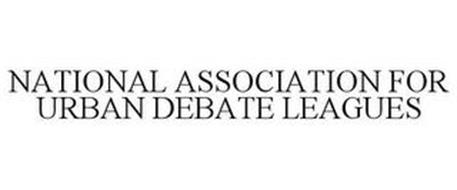 NATIONAL ASSOCIATION FOR URBAN DEBATE LEAGUES
