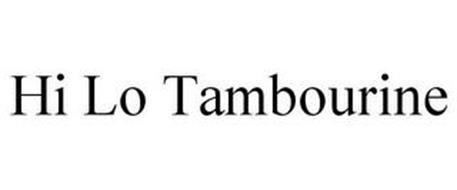 HI LO TAMBOURINE