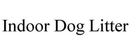INDOOR DOG LITTER
