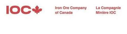 IOC IRON ORE COMPANY OF CANADA LA COMPAGNIE MINIÈRE IOC