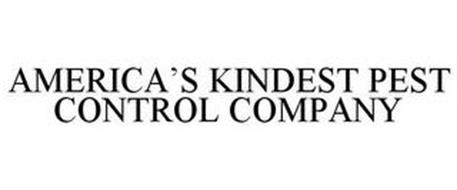 AMERICA'S KINDEST PEST CONTROL COMPANY