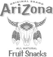 ORIGINAL BRAND ARIZONA ALL NATURAL FRUIT SNACKS