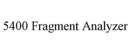 5400 FRAGMENT ANALYZER
