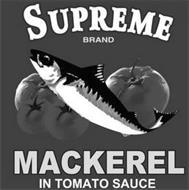 SUPREME BRAND MACKEREL IN TOMATO SAUCE