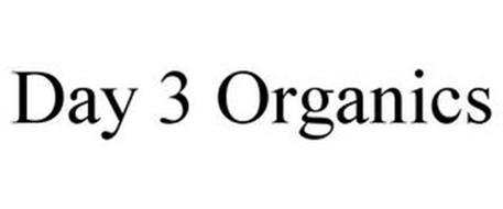 DAY 3 ORGANICS