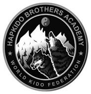 HAPKIDO BROTHERS ACADEMY WORLD KIDO FEDERATION