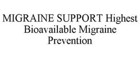 MIGRAINE SUPPORT HIGHEST BIOAVAILABLE MIGRAINE PREVENTION
