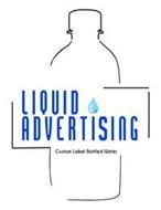 LIQUID ADVERTISING CUSTOM LABEL BOTTLED WATER