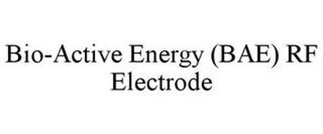 BIO-ACTIVE ENERGY (BAE) RF ELECTRODE