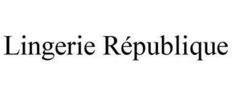 LINGERIE RÉPUBLIQUE