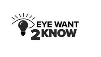 EYE WANT 2 KNOW