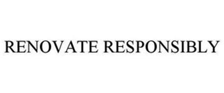 RENOVATE RESPONSIBLY