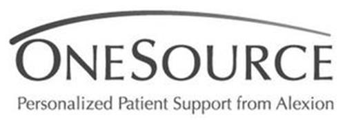 ONESOURCE PERSONALIZED PATIENT SUPPORT FROM ALEXION