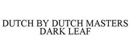 DUTCH BY DUTCH MASTERS DARK LEAF