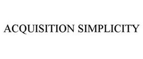 ACQUISITION SIMPLICITY