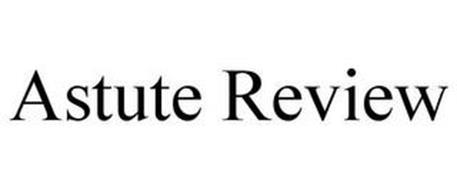 ASTUTE REVIEW