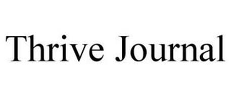 THRIVE JOURNAL