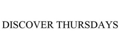 DISCOVER THURSDAYS