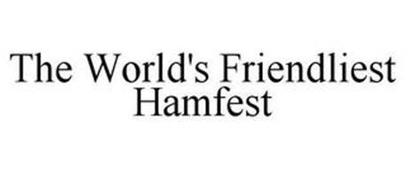 THE WORLD'S FRIENDLIEST HAMFEST