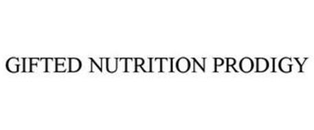 GIFTED NUTRITION PRODIGY