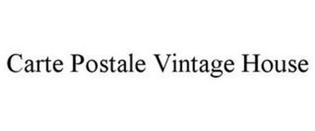 CARTE POSTALE VINTAGE HOUSE