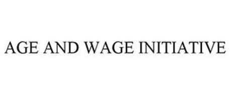 AGE AND WAGE INITIATIVE