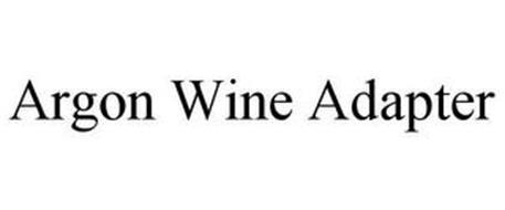 ARGON WINE ADAPTER