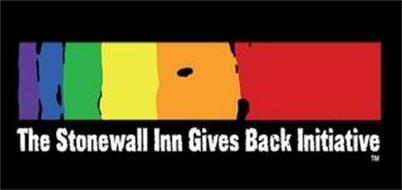 THE STONEWALL INN GIVES BACK INITIATIVE