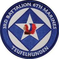 3RD BATTALION 6TH MARINES TEUFELHUNDEN