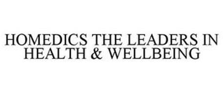 HOMEDICS THE LEADERS IN HEALTH & WELLBEING