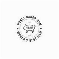 ·HONEY BAKED HAM· WORLD'S BEST HAM EST 1957 HBH CO