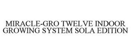 MIRACLE-GRO TWELVE INDOOR GROWING SYSTEM SOLA EDITION