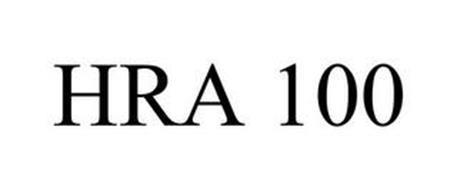 HRA 100