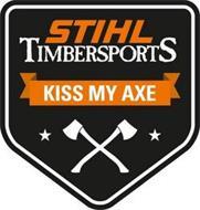 STIHL TIMBERSPORTS KISS MY AXE