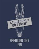 STUBBORNLY DIFFERENT AMERICAN DRY GIN
