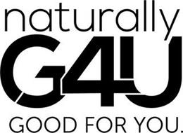 NATURALLY G4U GOOD FOR YOU.