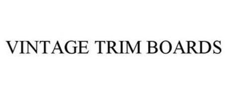 VINTAGE TRIM BOARDS