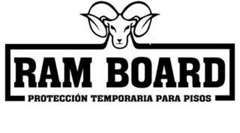 RAM BOARD PROTECCIÓN TEMPORARIA PARA PISOS