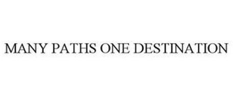 MANY PATHS ONE DESTINATION