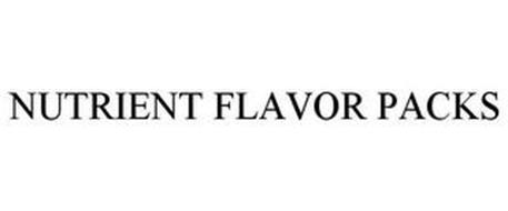 NUTRIENT FLAVOR PACKS