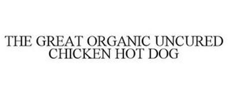 THE GREAT ORGANIC UNCURED CHICKEN HOT DOG