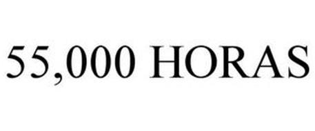55,000 HORAS