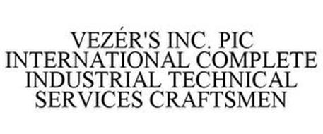 VEZÉR'S INC. PIC INTERNATIONAL COMPLETE INDUSTRIAL TECHNICAL SERVICES CRAFTSMEN