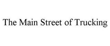 THE MAIN STREET OF TRUCKING