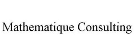 MATHEMATIQUE CONSULTING