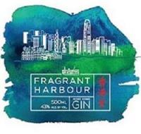 FRAGRANT HARBOUR 500ML 43% ALC BY VOL. HONG KONG GIN