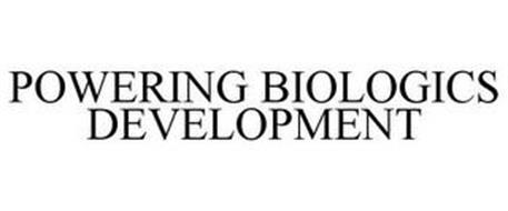 POWERING BIOLOGICS DEVELOPMENT