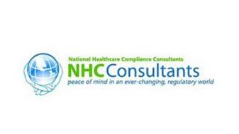 NATIONAL HEALTHCARE COMPLIANCE CONSULTANTS NHCCONSULTANTS PEACE OF MIND IN AN EVER-CHANGING, REGULATORY WORLD